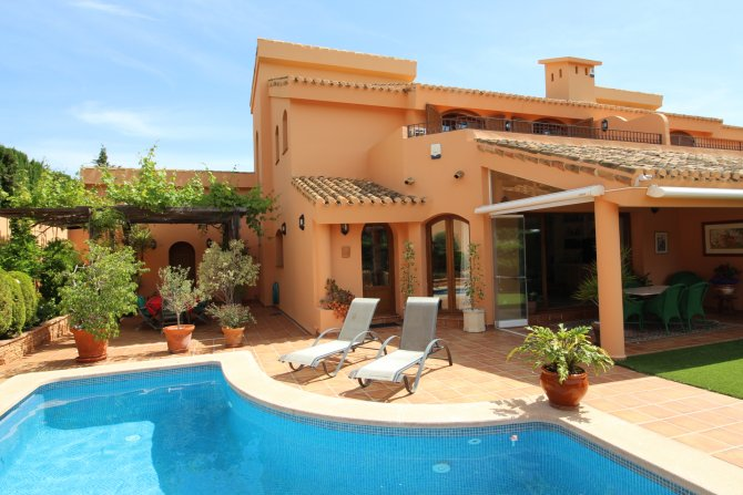 La Manga Club Luxury Front Line Villa