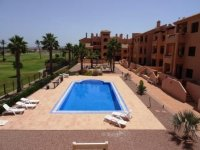 Serena Golf Apartment With Golf & Sea Views